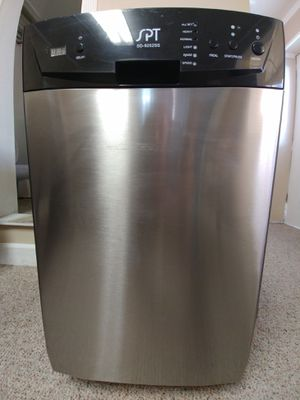 18 in stainless dishwasher spt brand excellent condition for Sale in Clearwater, FL
