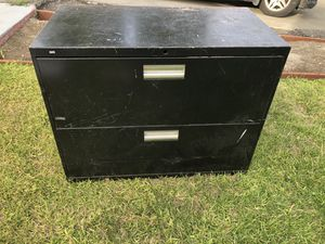 Free hon file cabinet. All metal for Sale in Oakland, CA