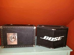 PA System Bose Speakers Amp Sound Bar Music Events Stereo for Sale in Cincinnati, OH