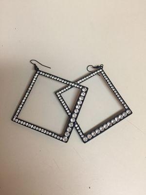 Black diamond earrings for Sale in Nashville, TN