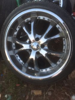 """20"""" rims 5 lug 5x114 for Sale in Norco,  CA"""