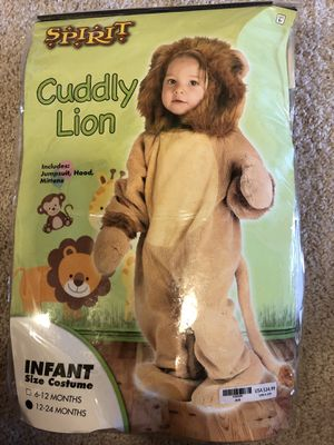 Toddler lion halloween costume for Sale in Naperville, IL