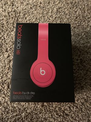 Beats by Dre Solo headphones for Sale in Tampa, FL