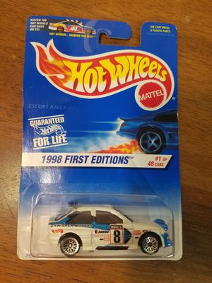 Hot Wheels Ford Escort Rally for Sale in Newburgh, IN
