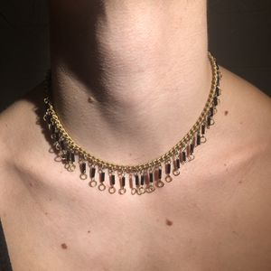 Pretty Black and Gold Chain Necklace for Sale in Tempe, AZ