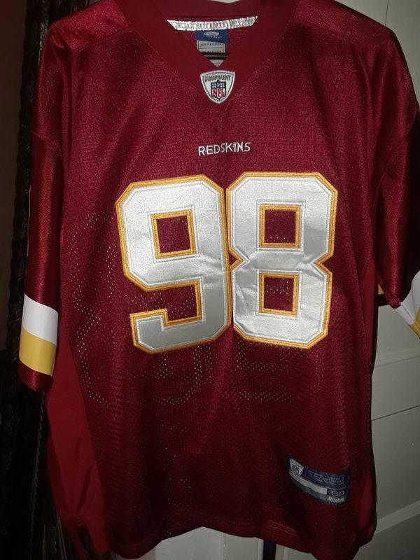 Redskins Jersey Size 48