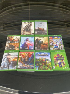 Xbox One & 360 Games for Sale in Houston, PA