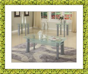 Glass white coffee table for Sale in Crofton, MD