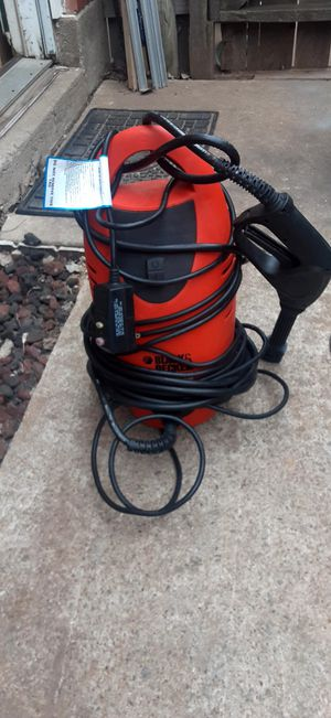 Black n decker power washer 1.5gpm for Sale in Oklahoma City, OK