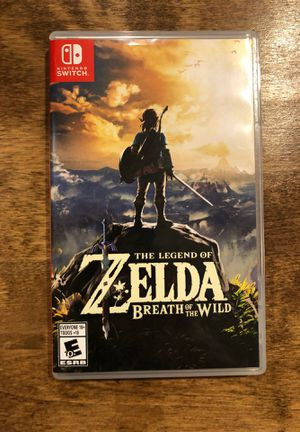 Zelda Breath of the Wild for Sale in Bucksport, ME