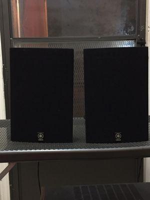 Yamaha bookshelf speakers(na-a200x) for Sale in Houston, TX