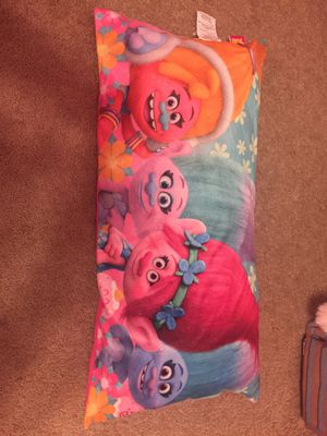 Troll pillow like new for Sale in Yorkville, IL