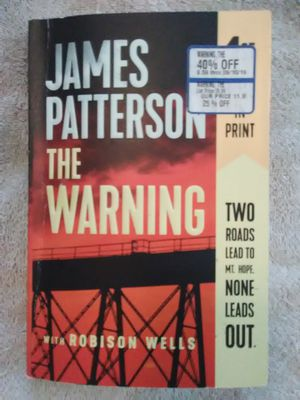 The Warning by James Patterson for Sale in Queen Creek, AZ