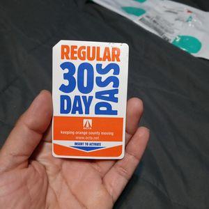 Regular Buss Pass for Sale in Costa Mesa, CA