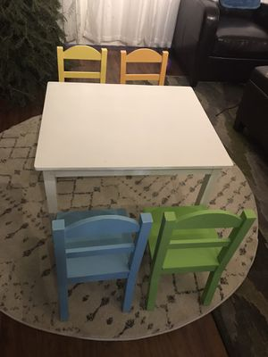 Kids table and chairs for Sale in Phoenix, AZ