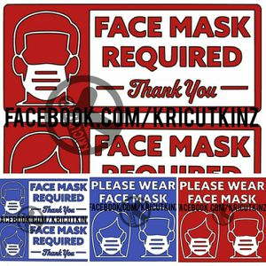Mask decals for your business for Sale in Boise, ID