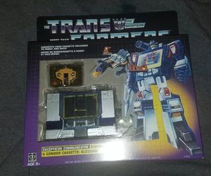 Transformers g1 reissue soundwave misb for Sale in Allentown, PA