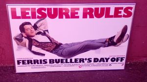 Framed Ferris bueller's day off poster for Sale in Los Angeles, CA