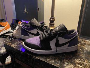 Jordan 1 Court Purple Size 9 for Sale in Red Lion, PA