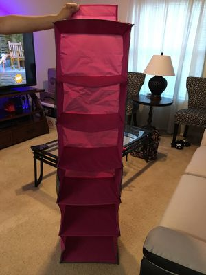 Pink Closet Organizer for Sale in Germantown, MD
