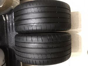 245/35/18 Michelin pilot super sport for Sale in Carrollton, TX