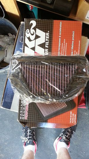 Used, K&N air filter 2012 Yamaha R6 (2008 - 2019 compatible) for Sale for sale  Elk Grove, CA