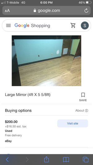 WALL MIRROR NEED GONE for Sale in Fort Worth, TX