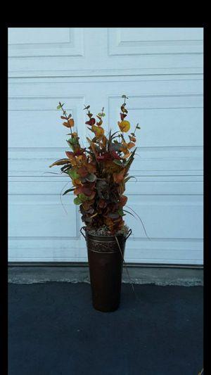 Autumn faux floral arrangement for Sale in Escondido, CA