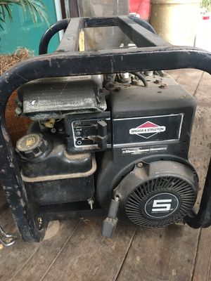 Briggs and Stratton generator runs great for Sale in Sweet Home, OR
