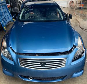 2008 - 2015 INFINITI G37 Q60 COUPE ALL PARTS OUT FOR SALE! for Sale in Fort Lauderdale, FL