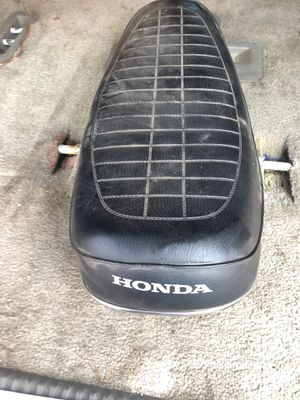 Honda Seat Motorcycle Seat Honda Seat Vintage Honda Motorcycle for Sale in Mesa, AZ
