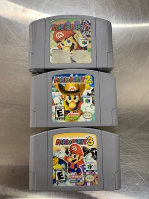 Mario Party 1-2-3 for Nintendo 64 for Sale in East Wenatchee, WA