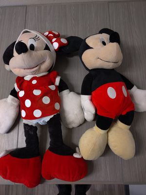 Mickey and Minnie Stuffed Animals for Sale in Oxnard, CA
