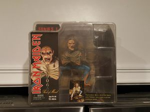 2005 Iron Maiden Eddie Piece of Mind Action Figure New Neca toy Series 1 RARE for Sale in Los Nietos, CA