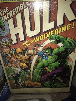 Marvel comics poster for Sale in Billings, MT