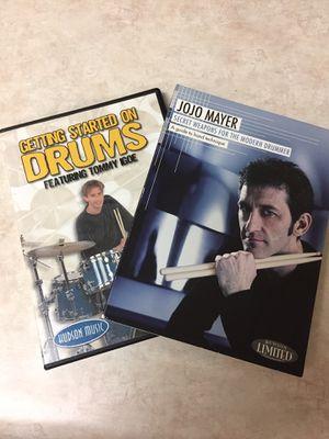 Drum instruction dvds for Sale in Glendale, AZ