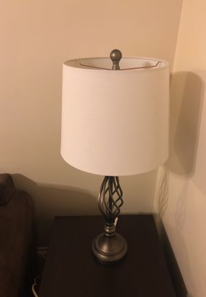Elegant lamp with shade and bulb for Sale in Milton, MA