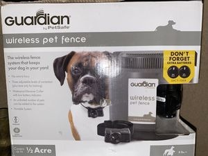 Guardian pet wireless system for Sale in Stockton, CA