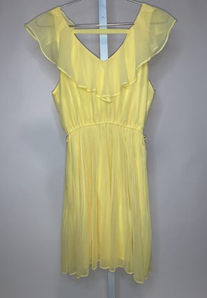 Yellow Mini Summer Dress | Women's Small for Sale in Wheaton, MD