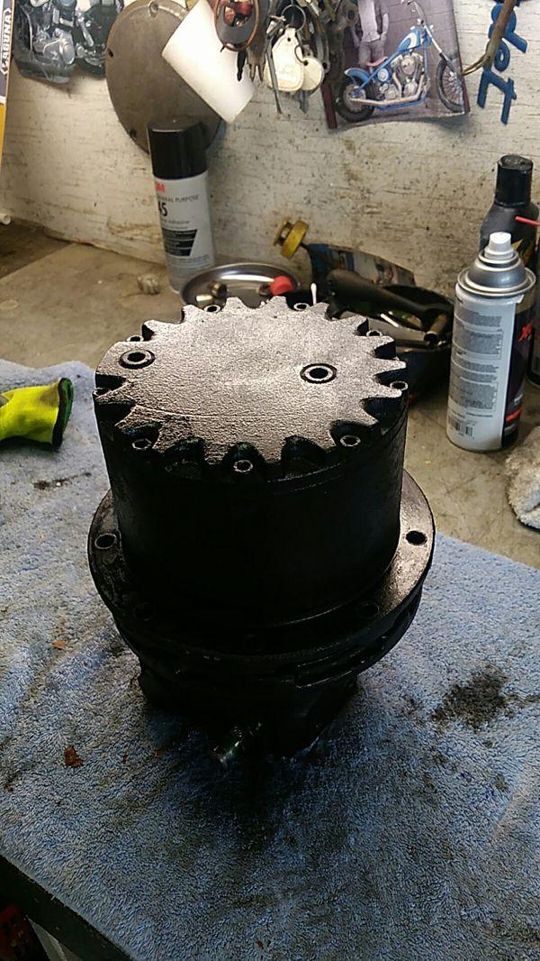 Mini excavator tb015 final drive