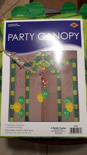 Jungle decorations for birthday or baby shower for Sale in Allentown, PA