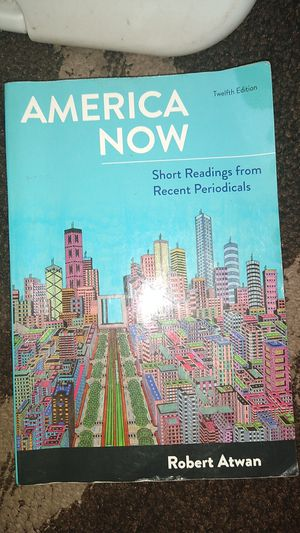America now 12th edition for Sale in Santa Maria, CA