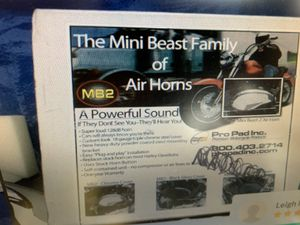 Mini Beast Motorcycle air horn for Sale in Washington, PA