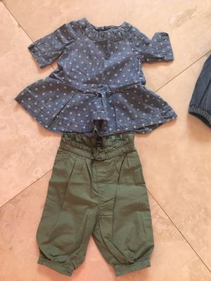 Baby girl clothes size 3/6 months 6 months for Sale in Dearborn, MI