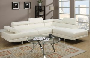 New white sectional sofa couch for Sale in Orlando, FL