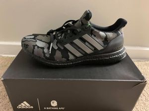 Adidas X Bape Ultraboost 4.0- Camo Black for Sale in Silver Spring, MD