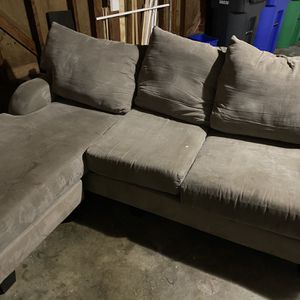 Very Soft And Comfortable Grey Couch! for Sale in Portland, OR