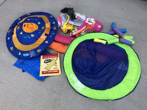 Pool toys and kids life jacket for Sale in Colorado Springs, CO