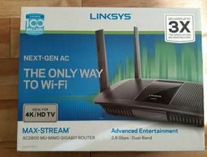 LINKSYS AC2600 WIFI ROUTER for Sale in Fort Myers, FL