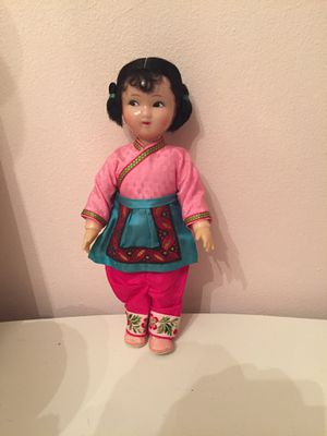 Vintage Asian celluloid doll for Sale in White Plains, NY